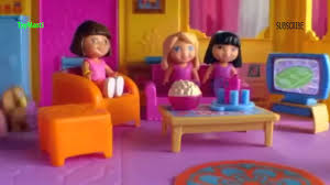 Dora The Explorer Fiesta Kitchen Set by Dora The Explorer Dora And Me Dollhouse Youtube