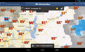 100 Wundergroundd Wunderground Releases WunderMap For Android Tablets A Unique