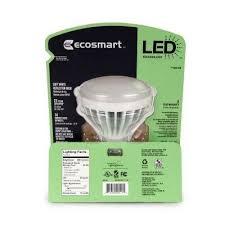 ecosmart br30 9 watt 65w soft white 2700k led flood light bulb