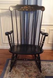 Vintage S.Bent & Bros Colonial Rocker Rocking Adult Chair ...