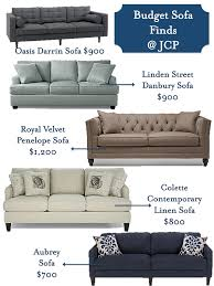 budget sofa finds and tips