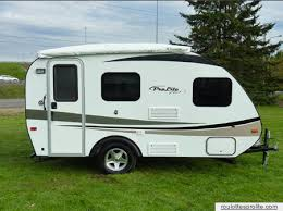 Ingenious Design Ideas Small Rv With Bathroom Magnificent Prolite Plus S From Starling Travel Gma And
