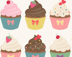 Chocolate Cake clipart fancy cupcake 2