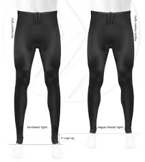 tall mens black spandex unpadded workout tights
