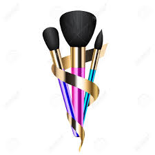 Makeup Artist Clip Art Design