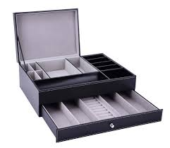Mens Dresser Top Valet by Men Dresser Top Valet Tray Leather Jewelry Watch Box Coin Phone