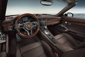 Porsche Exclusive Introduces Wood Trim for 911 Not Our Cup of Tea
