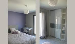 couleur parme chambre chambre parme et gris nolwenn kevell photo n 91 domozoom