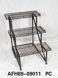 Outdoor Patio Plant Stands by Metal Plant Stands Holder Patio Outdoor Garden Furniture Sets