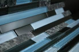 zen cafe blue blend 12x12 mesh mounted granite glass mosaic tile