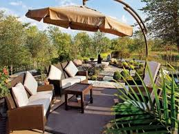 Patio Umbrella Base Menards by Furniture Intriguing Backyard Creations Patio Furniture Designs