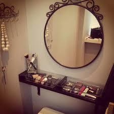 Diy Vanity Table Ikea by Diy Dressing Table Ikea Ekby Shelf Mirror Also Ikea Home