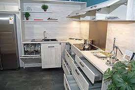 nobilia musterküche l küche mit side by side kühlschrank