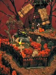 Lemax Halloween Village Displays by 134 Best Dept 56 Halloween Images On Pinterest Halloween Village
