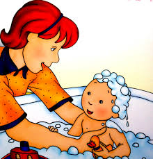 caillou takes a bath youtube