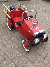 Vintage Pedal Fire Engine | In Rutherglen, Glasgow | Gumtree Goki Vintage Fire Engine Ride On Pedal Truck Rrp 224 In Classic Metal Car Toy By Great Gizmos Sale Old Vintage 1955 Original Murray Jet Flow Fire Dept Truck Pedal Car Restoration C N Reproductions Inc Not Just For Kids Cars Could Fetch Thousands At Barrett Model T 1914 Firetruck Icm 24004 A Late 20th Century Buddy L Childs Hook And Ladder No9 Collectors Weekly Instep Red Walmartcom Stuff Buffyscarscom Page 2
