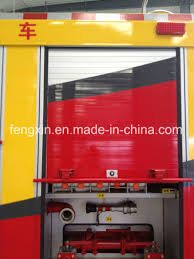 China Emergency Rescue Truck Roller Shutter Fire Engine Roll Up Door ...