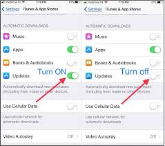 How to Disable Enable Automatic Update Apps on iPhone iPad iOS 11