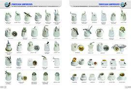 e10 e12 e14 e17 e27 e40 b22 series porcelain l holder l