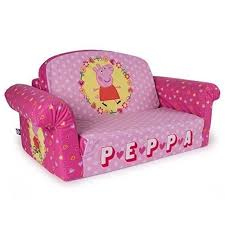 childrens sofa bed peppa pig couch 2 in 1 flip open foam sofa