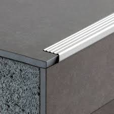 stainless steel edge trim for tiles outside corner stair