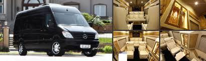 Custom 8 Passenger Mercedes Benz Luxury Coach