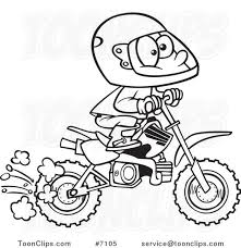581x600 Cartoon Dirt Bike Pictures Group 85