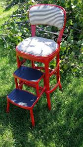 Cosco Retro Chair With Step Stool Black by Best 25 Metal Step Stool Ideas On Pinterest Vintage Metal