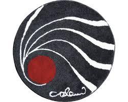 badteppich colani 18 rund anthrazit 80 cm
