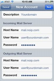 Setting Up POP IMAP Email on an iPhone Support