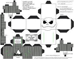 Jack Skellington Pumpkin Carving Patterns by Xmas9 Jack Skellington Cubee By Theflyingdachshund Deviantart Com