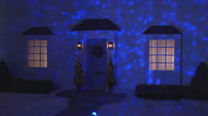 led lightshow icy blue led kaleidoscope projector lights