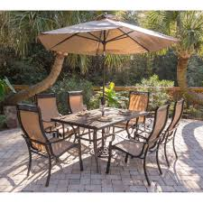 Dining Table Sets At Walmart by Walmart Patio Dining Sets With Umbrella Patio Outdoor Decoration