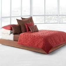 red wine cream colour bedding duvet cover set stylish poppy floral