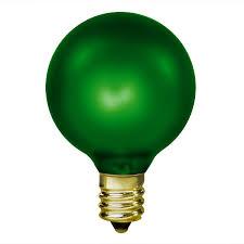 15w emerald green g16 5 bulb candelabra