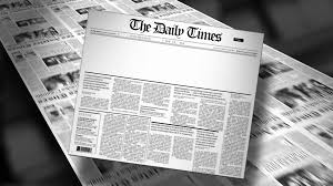 Blank Newspaper Headline Reveal And Loop HD Animation Motion Background