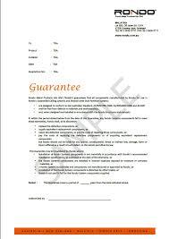 rondo warranty jpg