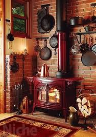 Wood Stove Oh Yeswood Stovecountry Kitchenheck Ill Even Take The Dog I Want It ALL D