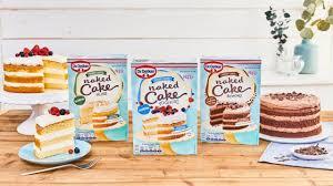 dr oetker cake backmischungen in den sorten joghurt