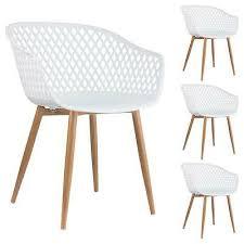 esszimmerstuhl retro design stühle 4er set küchenstuhl sitz