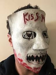 The Purge Halloween Mask by The Purge 3 Mask Kiss Me Latex Fancy Dress Election Year 1 2