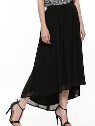 buy femella high low maxi skirt for women women u0027s black maxi