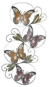 Butterfly Outdoor Wall Decor Medium Size Of Metal Art Garden