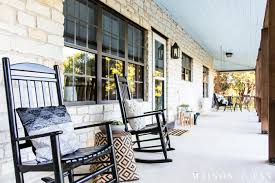 Modern Farmhouse Porch Reveal - Maison De Pax Famous For His Rocking Chair Sam Maloof Made Fniture That Had Amazoncom Baxton Studio Bbt5199grey Yashiya Mid Century Retro Ideas 14 Awesome Modern Designs For Your Handmade Chairs The Weeks Rocker Design Browse Autoban Products 10 Best 2019 Choice Foldable Zero Gravity Patio How To Reupholster An Arm Hgtv Christopher Knight Home 302188 Hank