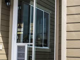 Doggie Door Insert For Patio Door by Doors With Doggie Doors Mentro Door Collection Pet Door