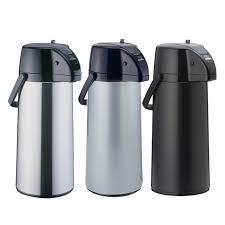 Zojirushi Premier Matte Black Air Pot Beverage Dispenser 22 Liter AASB 22BBK