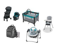 Graco Baby Gear Bundle, Stroller Travel System, Play Yard ... Graco Souffle High Chair Pierce Snack N Stow Highchair Blossom 6 In 1 Convertible Sapphire 2table Goldie Walmartcom Highchair Tagged Graco Little Baby 4in1 Rndabout Amazoncom Duodiner Lx Tangerine Buy Baby Flyer 032018 312019 Weeklyadsus Baby High Chair Good Cdition Neath Port Talbot Gumtree Best Duodiner For Infants Gear Mymumschoice The New Floor2table 7in1 Provides Your