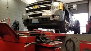 100 Chevy Dually Trucks Silverado Truck Brought In For Alignment Ayres