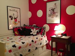 Adorable Red Minnie Mouse Bedroom Decor About