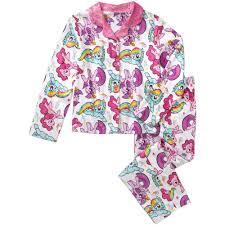 my little pony girls u0027 sleepwear walmart com